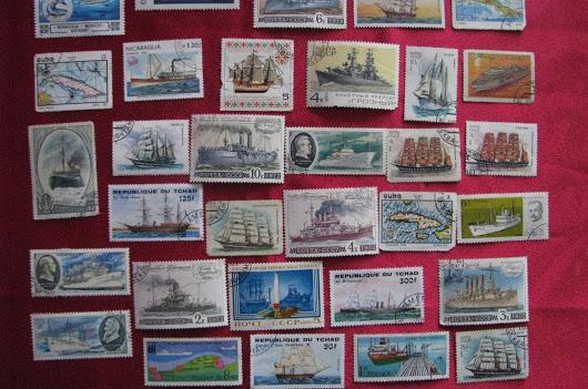 Коллекция редких марок
