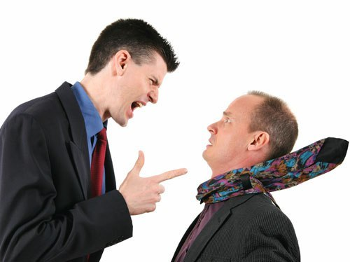 Агрессивный продавец